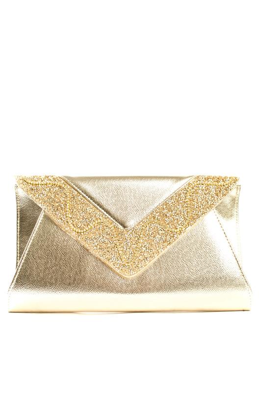Esmeralda Envelope Clutch Bag