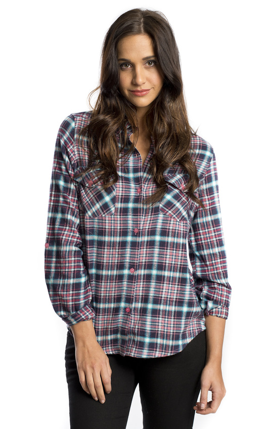 Cora Flannel Shirt