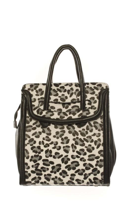 Ailsa Animal Print Textured Grab Bag