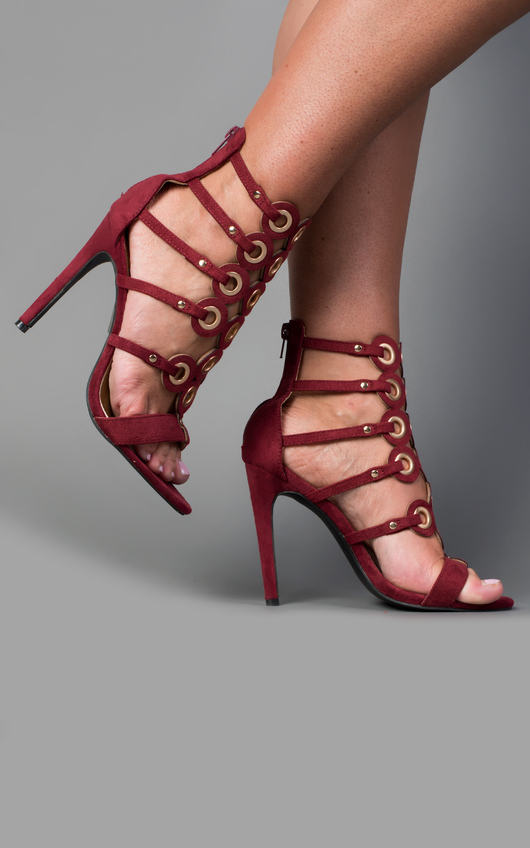 Brooklyn Circle Detail High Heels
