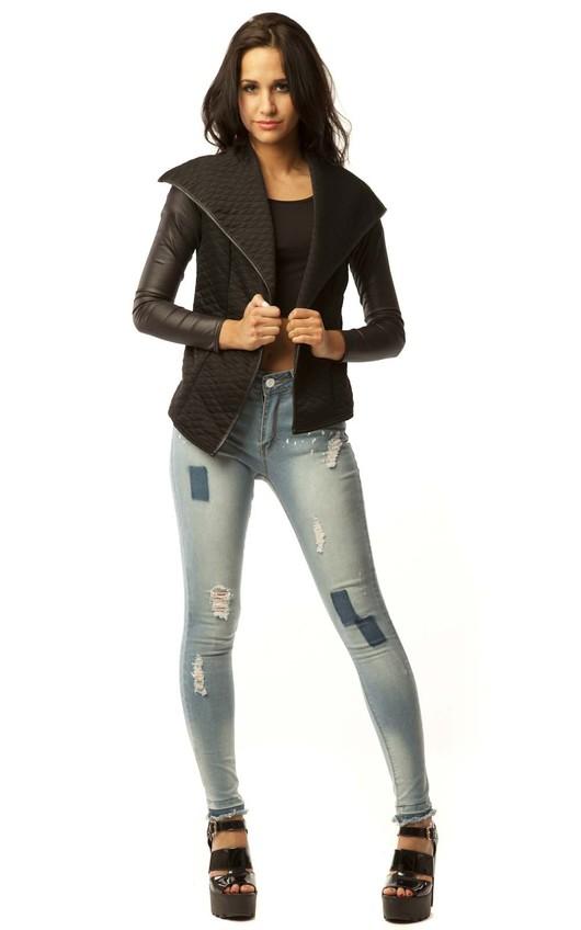 Tiffany Quilted Blazer