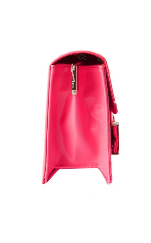 Eily Clutch Bag in Fuschia