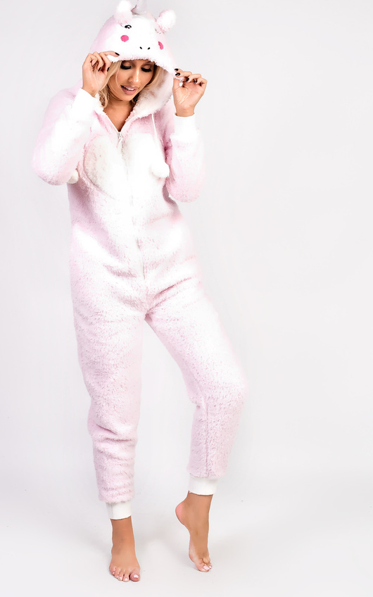 Unicorn Fleece Onesie