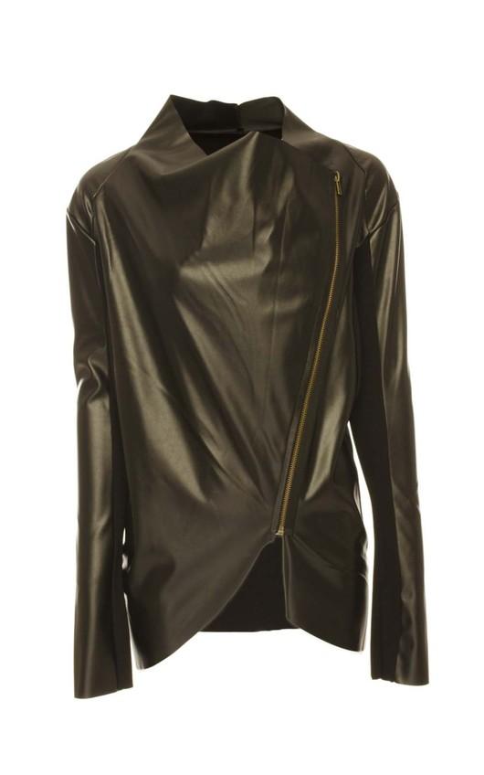 Adina Leatherette Jacket