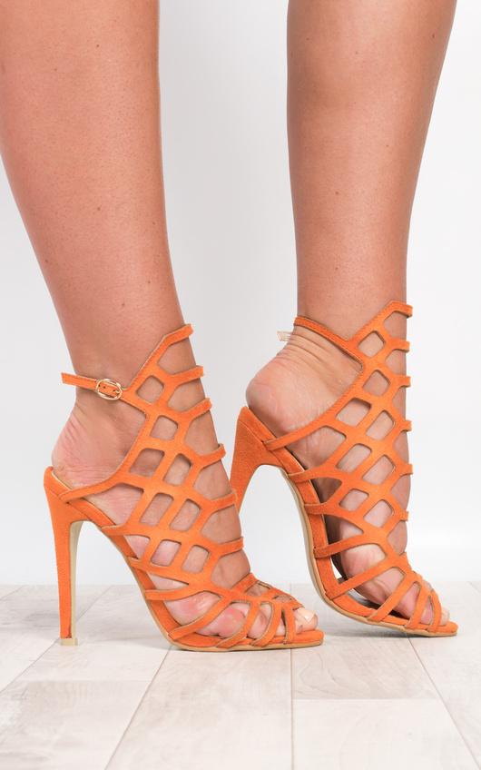 Arla Cage Detail High Heels