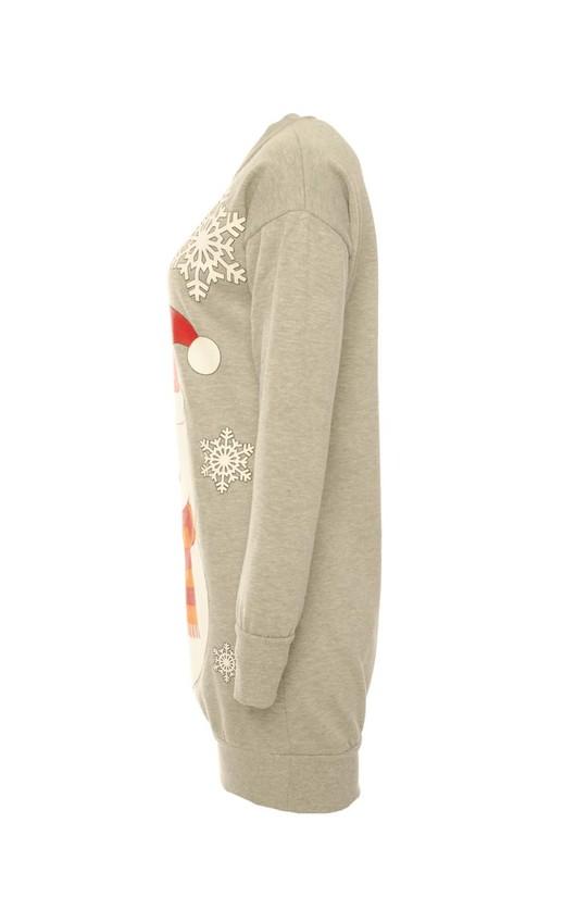 Amalie Oversized Santa Sweatshirt