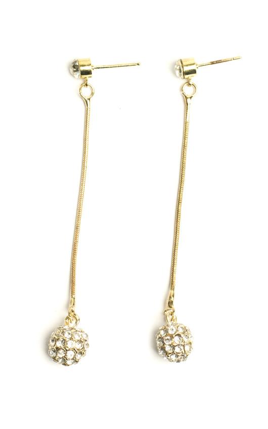 Brynn Diamanté Hanging Earrings