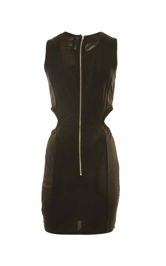 Adria Sequin Cutout Bodycon Dress