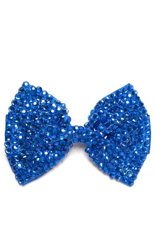 Kalina Blue Gem Hair Bow