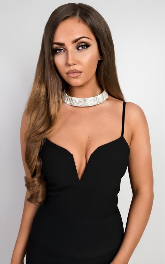 Palmer Diamante Necklace