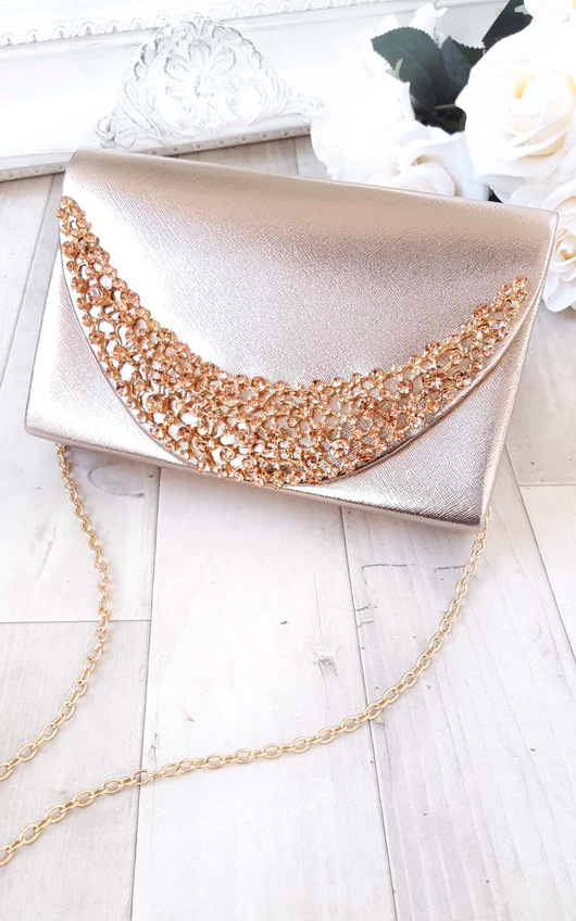 Joslin Embellished Clutch Bag