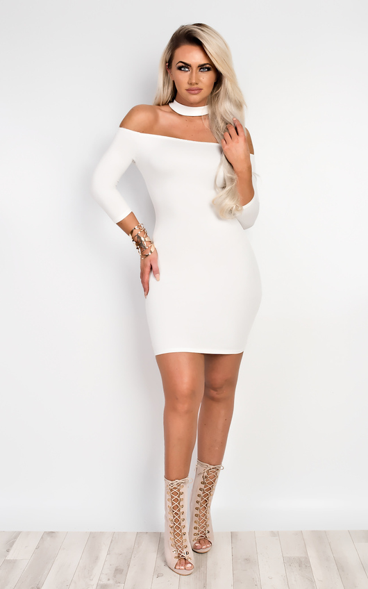 Imogen Off Shoulder Bodycon Dress