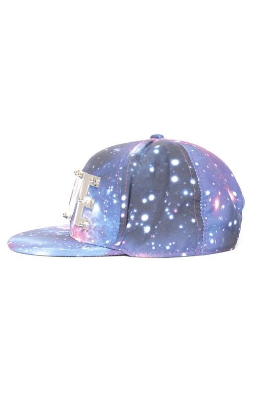 Katty Galaxy Print Love Cap