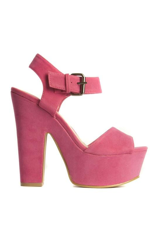 Winona Suede Platform Sandals