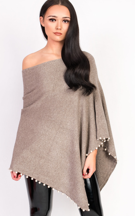Tina Beaded Poncho