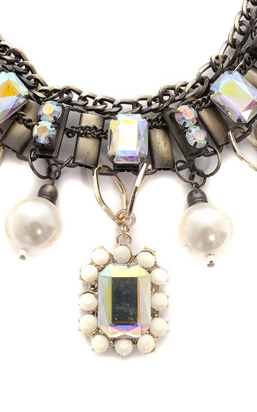 Adoncia Pearl Chocker Necklace