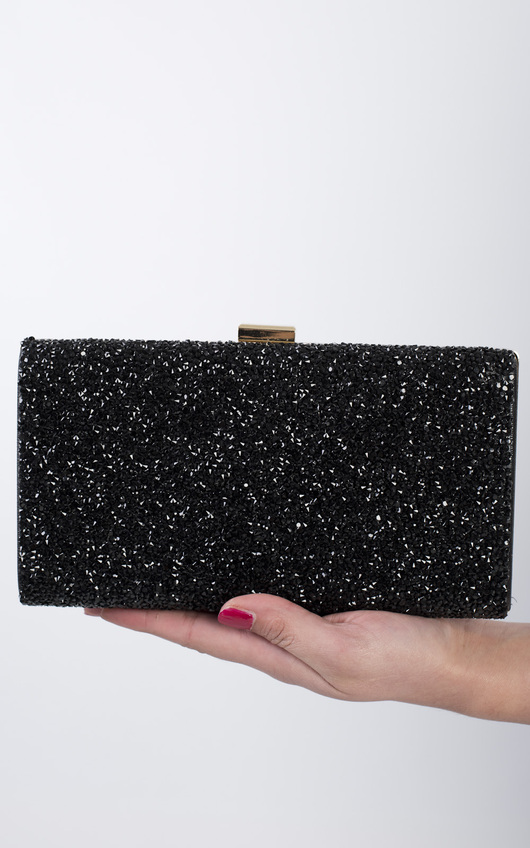 Sappho Gem Detail Clutch Bag