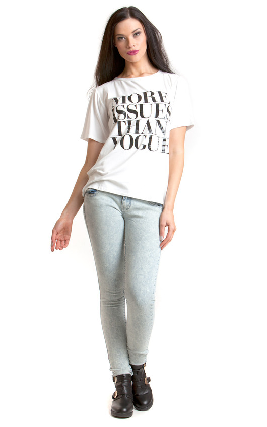 Fatima Slogan T-shirt