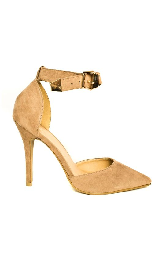 Nara Suede Effect Stiletto Heels