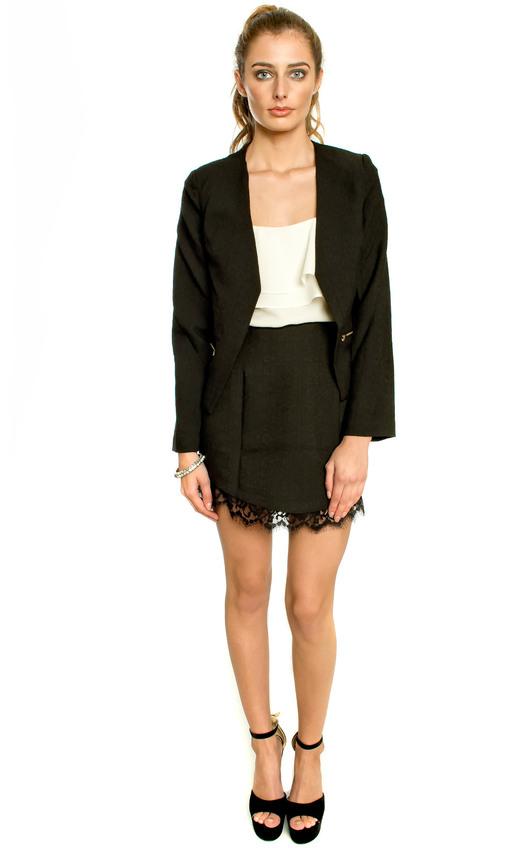 Nalani Lace Trim Skirt