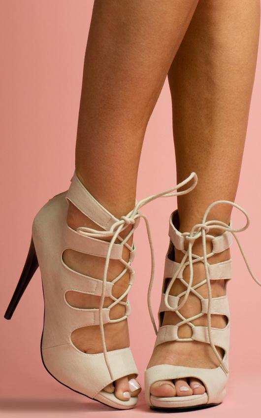 Dani Strappy Stiletto Heels