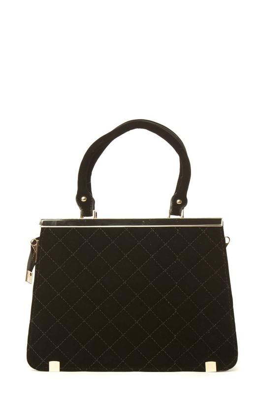 Shea Velvet Quilted Bag