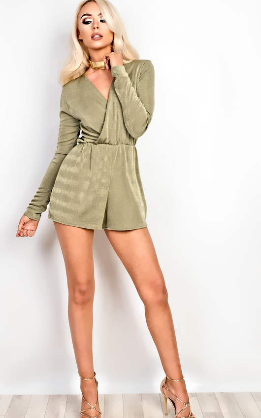 Jayne Deep Plunge Playsuit