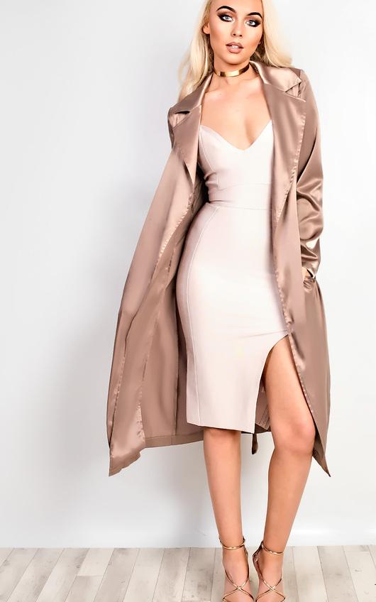 Pandora Satin Duster Coat