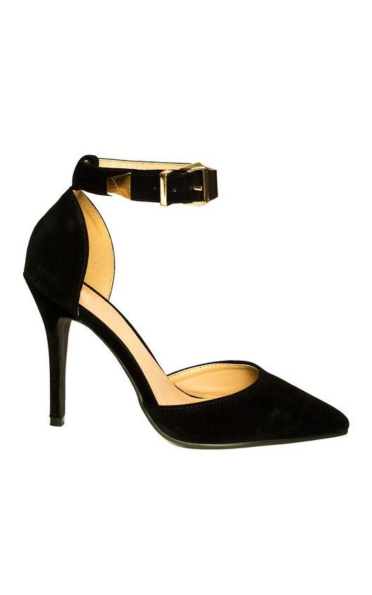 Nara Suede Effect Stiletto Heels