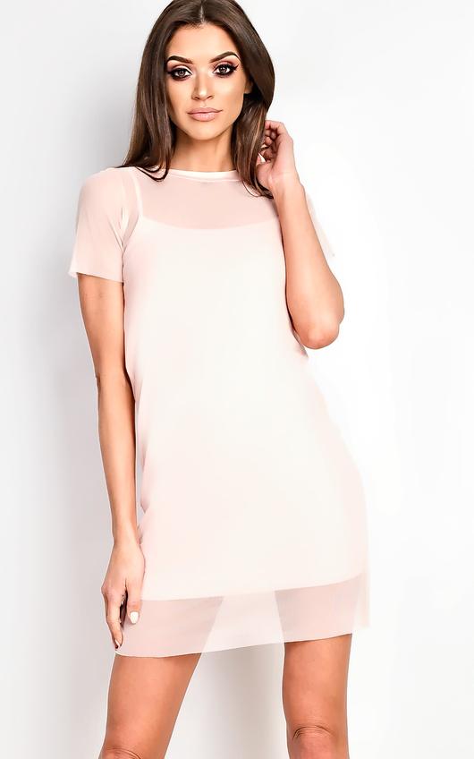 Zena Mesh Bodycon Dress