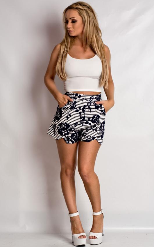 Magdalen Patterned Shorts