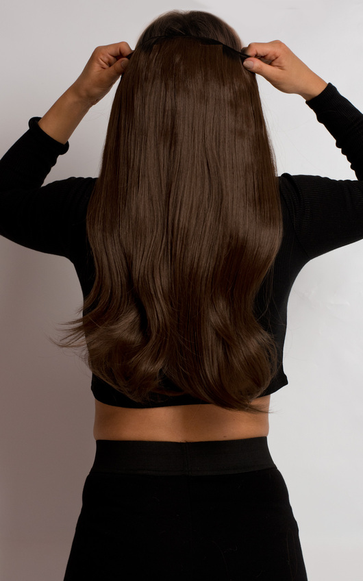 Intense Volume Clip In Hair Extensions - Flicky Chesnut