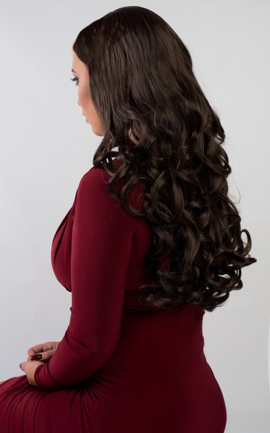 Livie Curly Full Volume 3/4 Wig