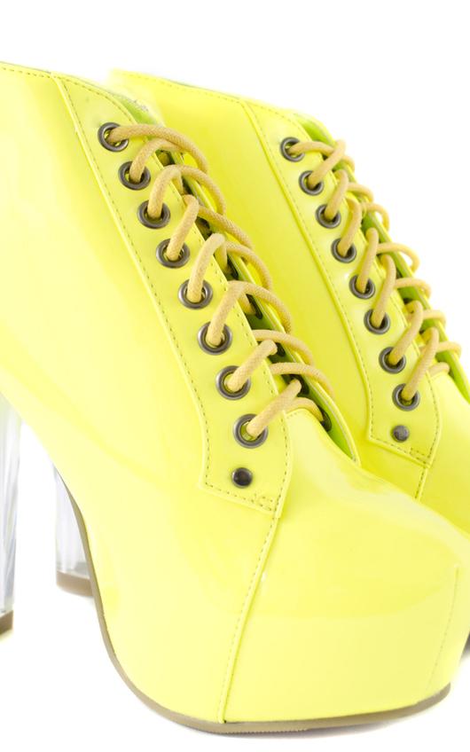Bekki Patent Platform Boot