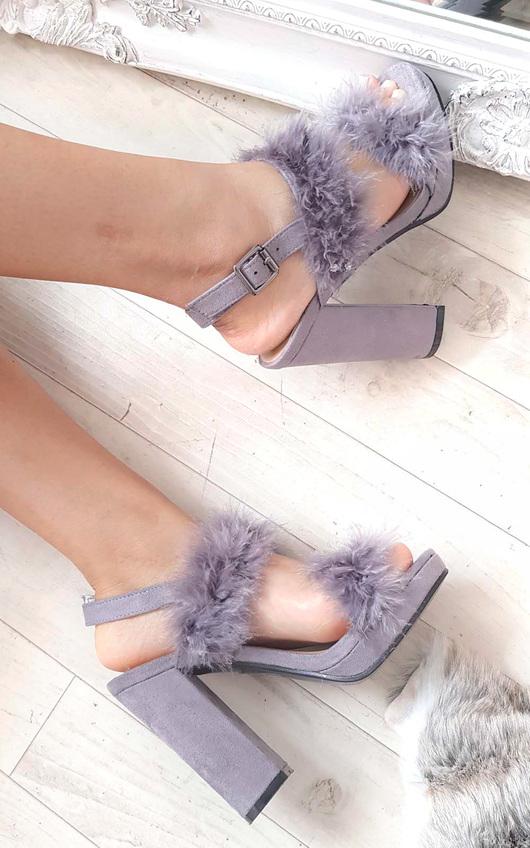 Alex Fluffy High Heels