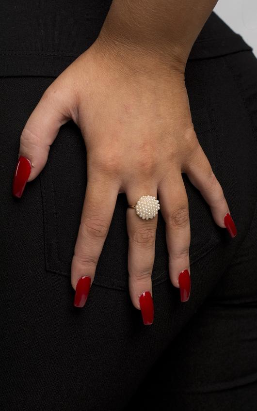 Macey Pearl Ring