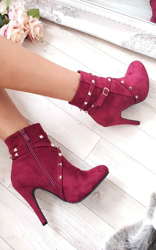 Anna Studded Ankle Boots