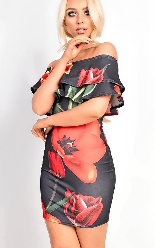 Natasha Bardot Floral Dress