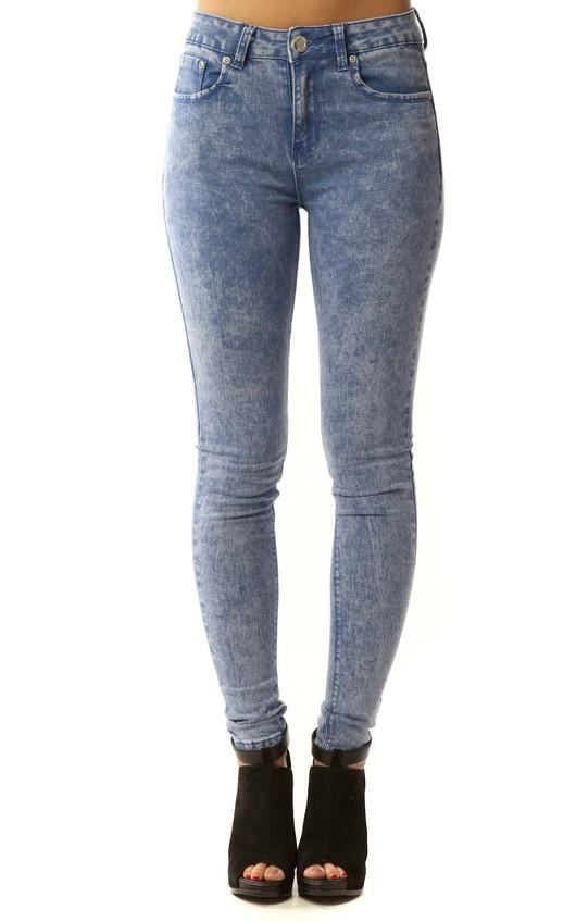 Lyanna Washed Skinny Jeans