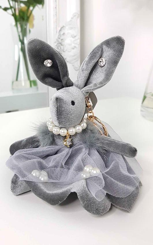 Katie Bunny Key Ring