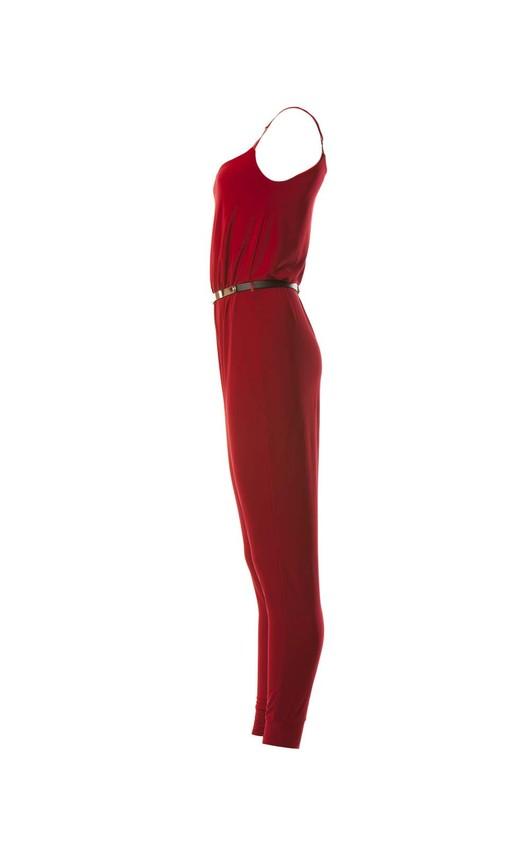 Miranda Jumpsuit in Red