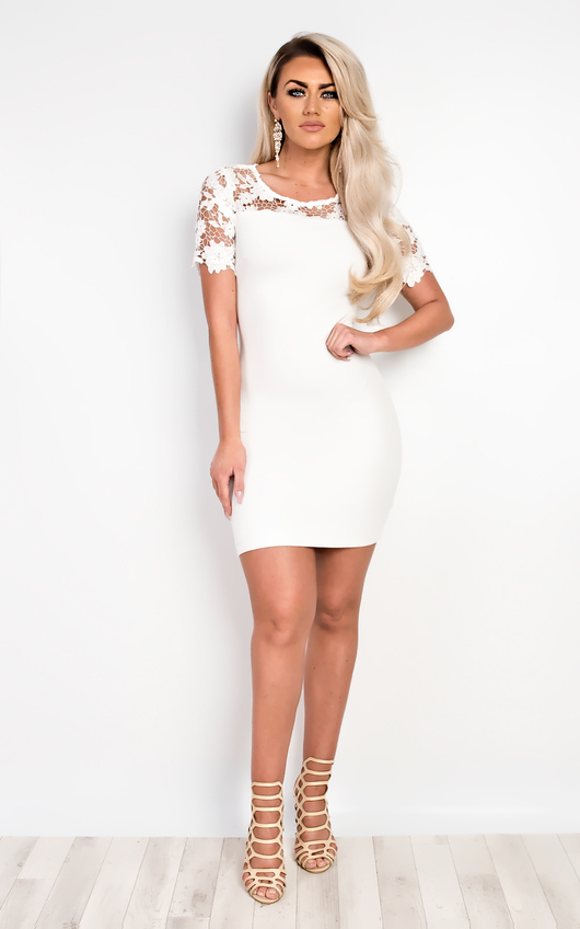 Emilia Lace Bodycon Dress