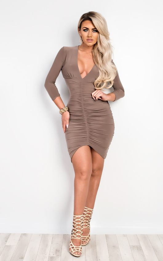 Ryder Ruched Bodycon Dress