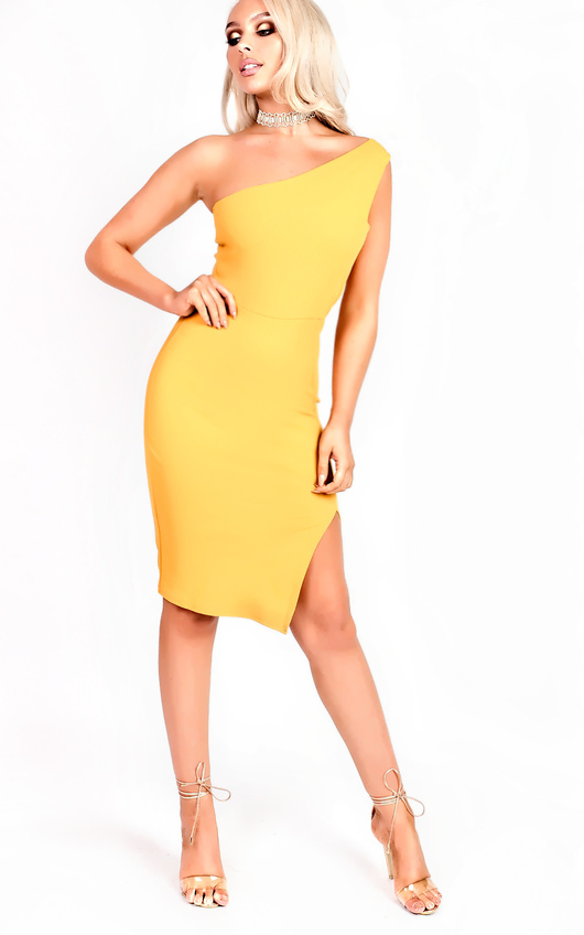 Kirah One Shoulder Bodycon Dress