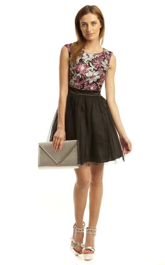 Balbina Floral Prom Dress