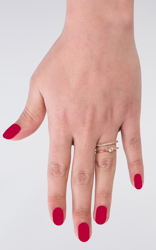 Vlada Double Diamante Ring