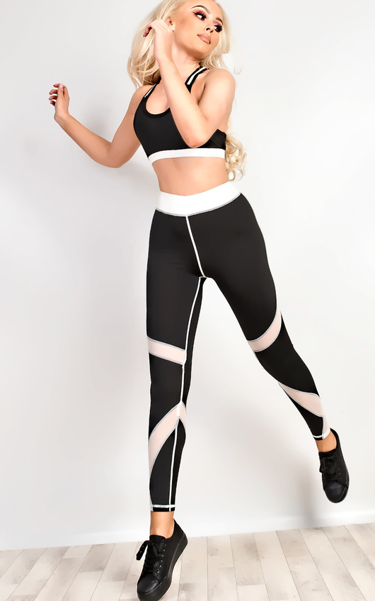 Sierra Black & White Gym Set