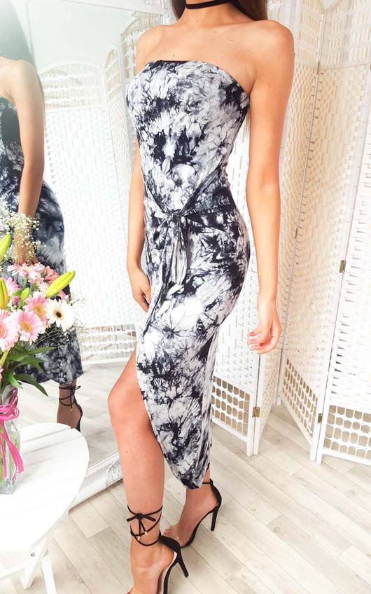 Jade Bandeau Wrap Dress