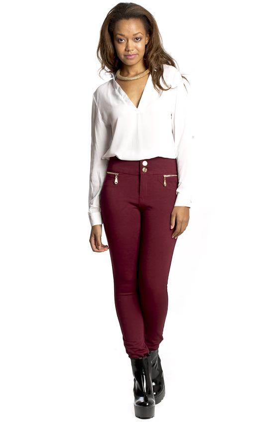 Freja High Waisted Skinny Jeans