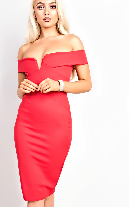 Kaidence Off Shoulder Bodycon Dress